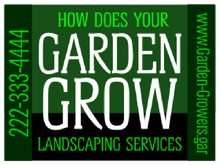 Yard Sign Template for How Does Your Garden Grow Landscaping Services