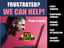 Yard Sign Template for Frustrated Computer Help Data Recovery