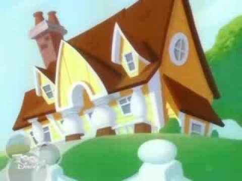 cartoon big house