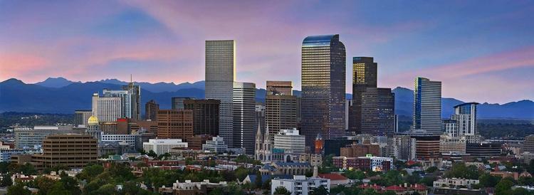 Image of Denver City Skyline for Denver Sign & Banner Company