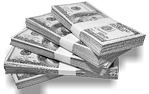 Save More Cash at Low Cost Signs - photo of stacks of cash