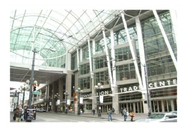 Photo of Seattle Convention Trade Center with Glass Archway