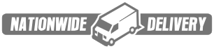 Free Nationwide Shipping - LARGE Delivery Van Logo